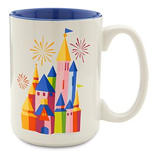 Disney Parks Castle Mug - 2014 - Limited Time Magic
