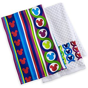 Mickey Mouse Dish Towel Set - Color Fusion