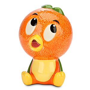 Orange Bird Figure