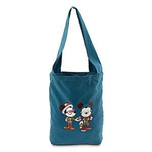 Mickey and Minnie Mouse Castle Coffee Break Tote