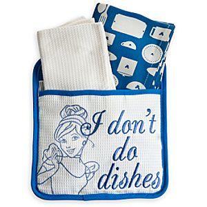 Cinderella Dish Towel Set