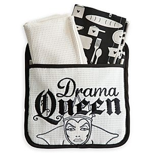 Evil Queen Dish Towel and Pot Holder Set