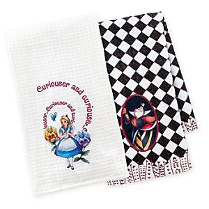 Alice in Wonderland Dish Towel Set