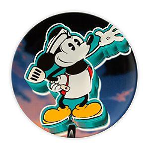 Mickeys Diner Souvenir Dessert Plate