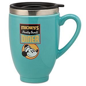Mickeys Diner Travel Mug
