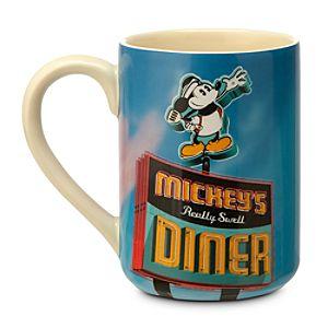 Mickeys Diner Souvenir Mug