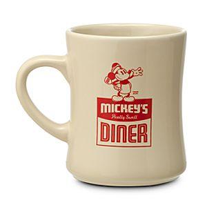 Mickeys Diner Logo Mug