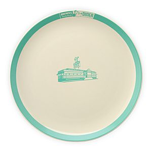 Mickeys Diner Logo Dinner Plate