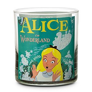 Disney Parks Attraction Poster Short Glass Tumbler - Alice in Wonderland/Mr. Toads Wild Ride