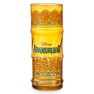 Adventureland Glass Tumbler - Amber
