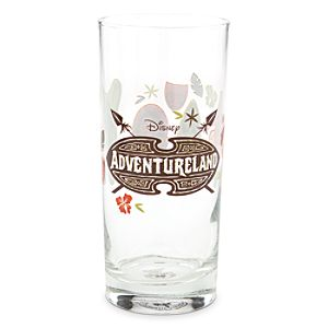 Adventureland Tall Glass Tumbler