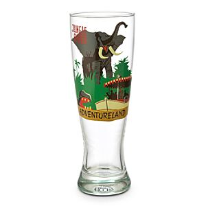 Disney Parks Attraction Poster Pilsner Glass - Jungle Cruise