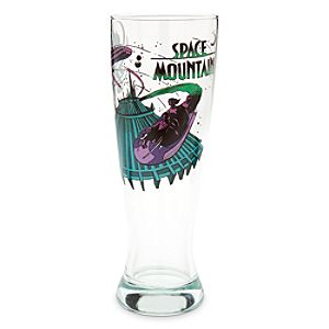 Disney Parks Attraction Poster Pilsner Glass - Space Mountain