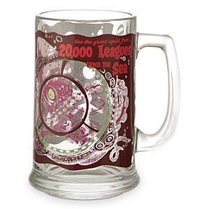 Disney Parks Attraction Poster Glass Tankard - 20,000 Leagues Under the Sea
