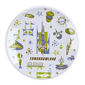 Tomorrowland Plate - 7