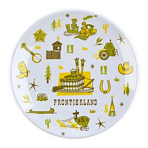 Frontierland Plate - 7