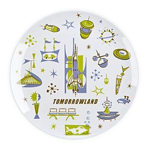 Tomorrowland Plate - 8