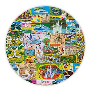 Magic Kingdom Map Plate - 11