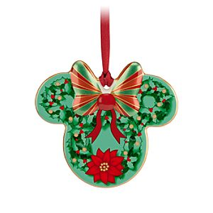 Minnie Icon Ornament - Wreath