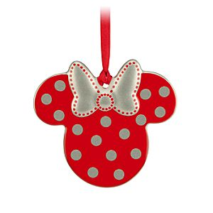Minnie Icon Ornament - Polka Dot