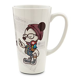 Mickey Mouse Happiest Hipster on Earth Mug