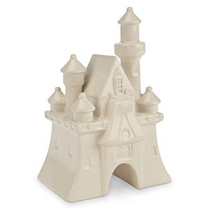 Fantasyland Castle Ceramic Miniature - White