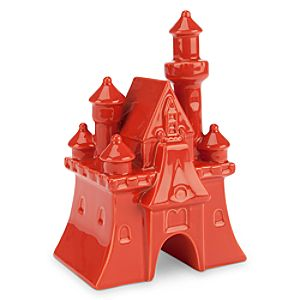 Fantasyland Castle Ceramic Miniature - Dark Orange