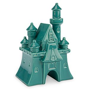 Fantasyland Castle Ceramic Miniature - Teal