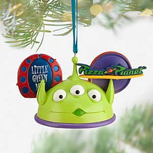Alien Ear Hat Ornament