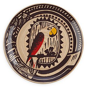 Enchanted Tiki Room Bamboo Plate