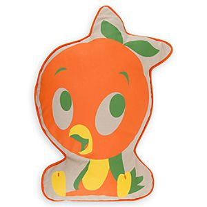 Orange Bird Pillow