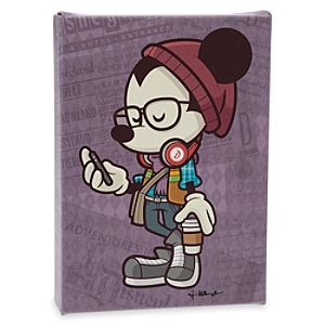 Mickey Mouse Happiest Hipster on Earth Gicleé by Jerrod Maruyama - Miniature