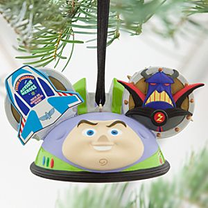 Buzz Lightyear Ear Hat Ornament