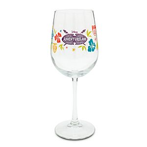 Adventureland Stemmed Glass