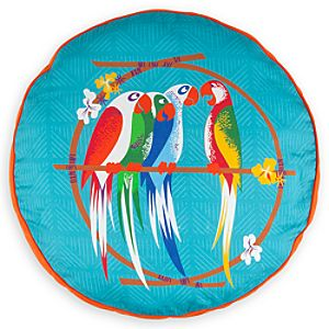 Enchanted Tiki Room Cushion Pillow