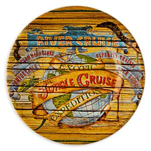 Disney Parks Attraction Poster Plate - Jungle Cruise - 7