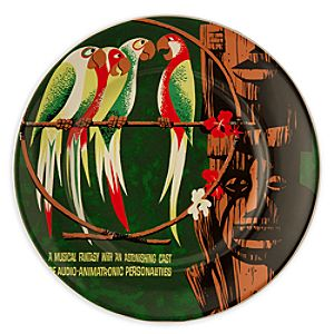 Disney Parks Attraction Poster Plate - Enchanted Tiki Room - 7