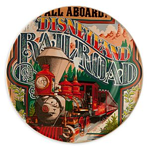 Disney Parks Attraction Poster Plate - Disneyland Railroad - 7