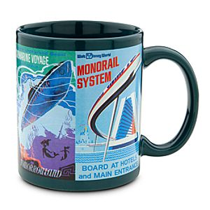 Disney Parks Attraction Poster Mug - Teal