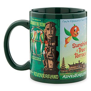 Disney Parks Attraction Poster Mug - Green