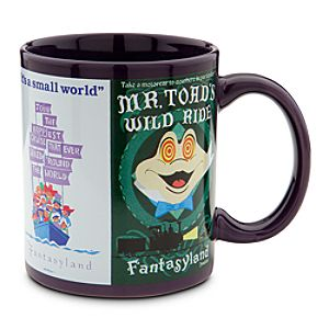 Disney Parks Attraction Poster Mug - Purple