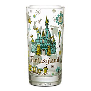 Fantasyland Glass Tumbler