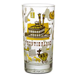 Frontierland Glass Tumbler