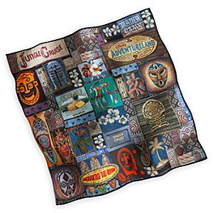 Adventureland Cloth Napkin - Collage