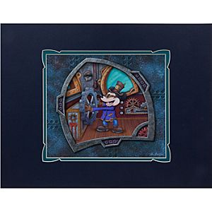 Steampunk Willie Deluxe Print by Dave Avanzino