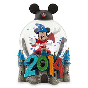 Sorcerer Mickey Mouse Snowglobe - Disneyland 2014