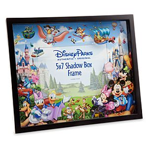Storybook Disney Parks Shadow Box Photo Frame
