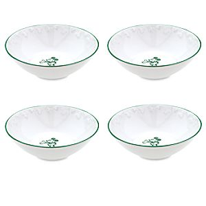 Gourmet Mickey Mouse Bowl Set - White/Green