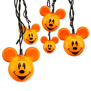 Mickey Mouse Pumpkin Light Set