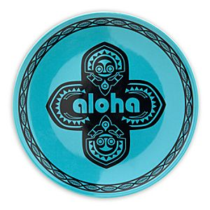 Adventureland Aloha Plate - 7 - Blue
